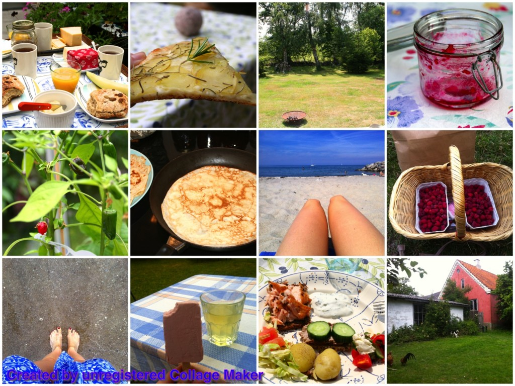 Sommerhus collage1