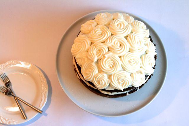 Prinsessens saftige chokoladekage