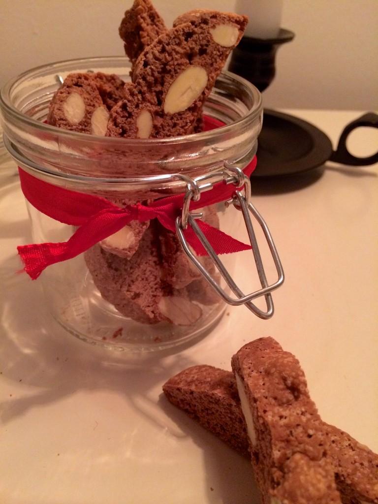 Louises Lammesky, biscotti med julekrydderier og appelsin