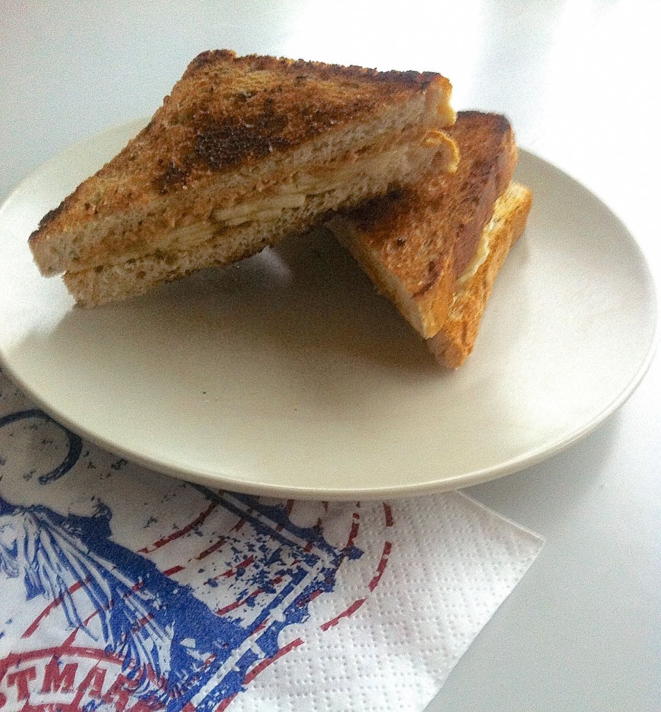 Januarmums peanutbuttertoast