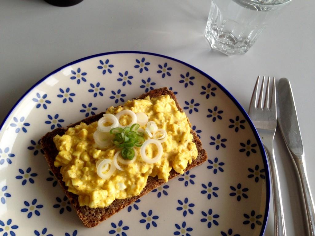 Fedtfattig æggesalat