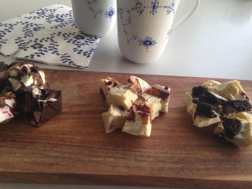 Rocky Roads - chokoladebrud