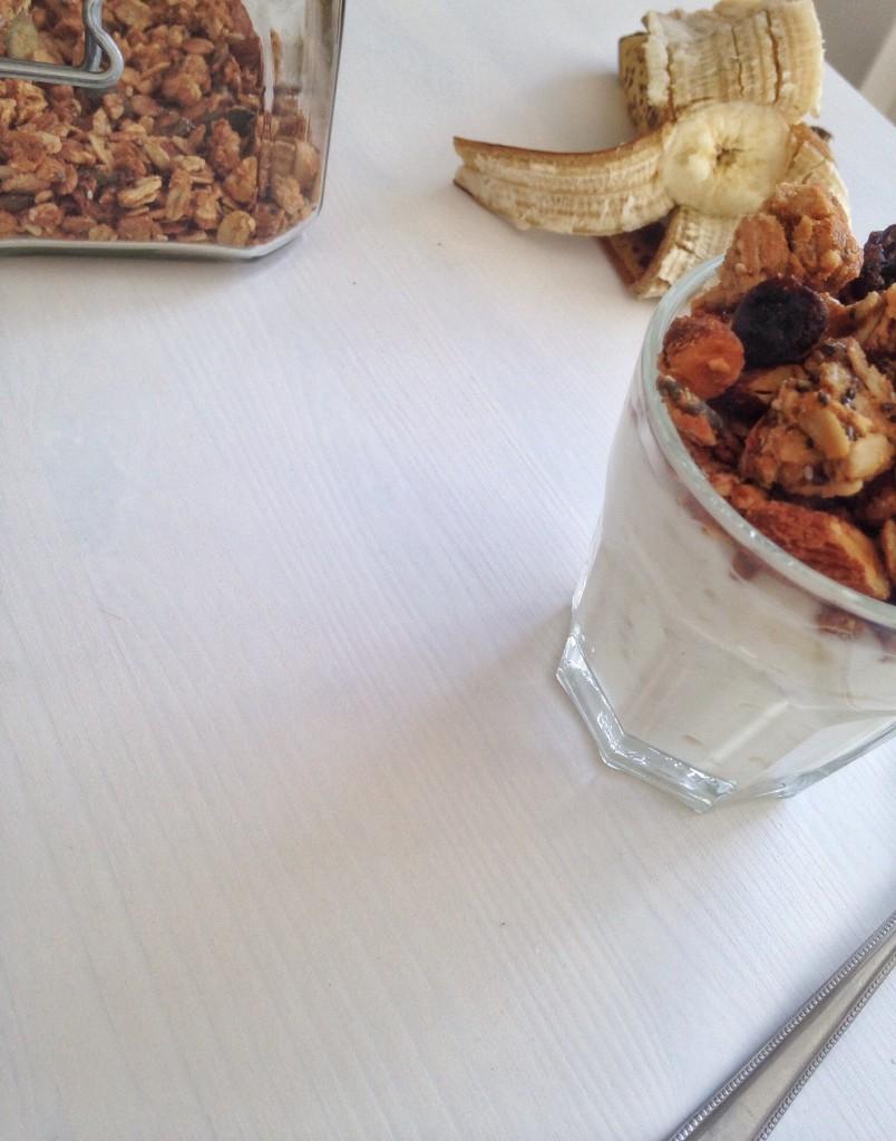 Bananyoghurt uden tilsat sukker