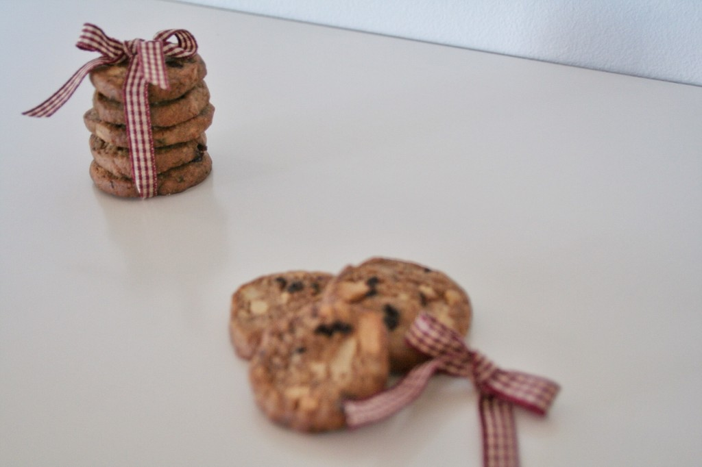 Marcipansmåkager med chokolade