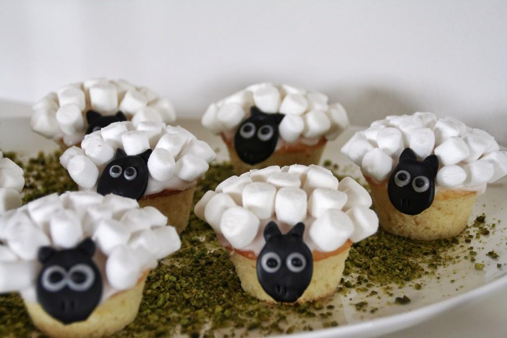 Citronmuffins i fåreklæder